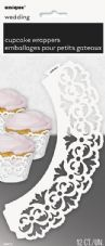 Lace Paper Cupcake Wrappers
